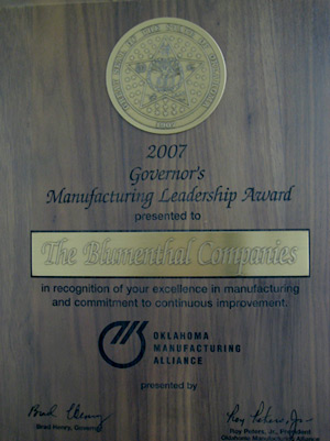 Blumenthal Governor Award